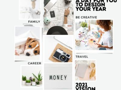 Vision board Creating