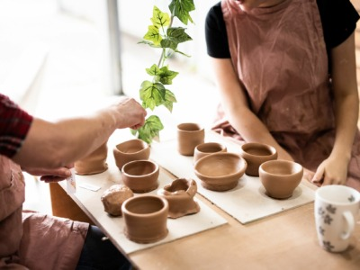 One -off pottery wheelthrowing experience